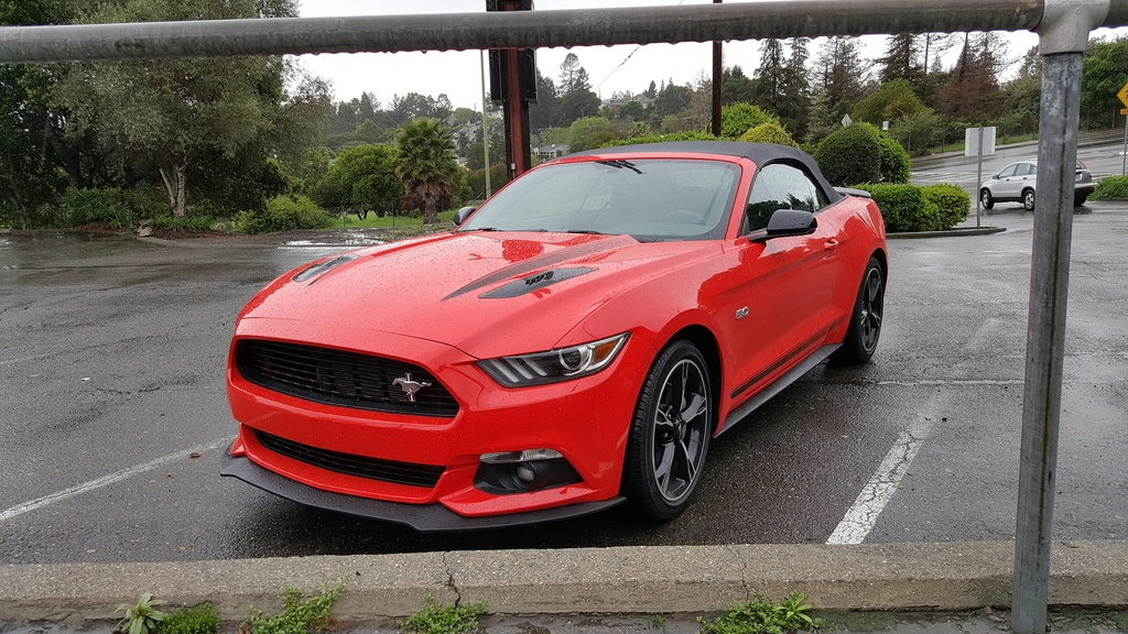 Mustang Rental Upgraded