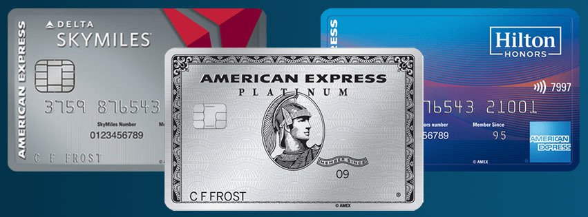 How many Amex Cards